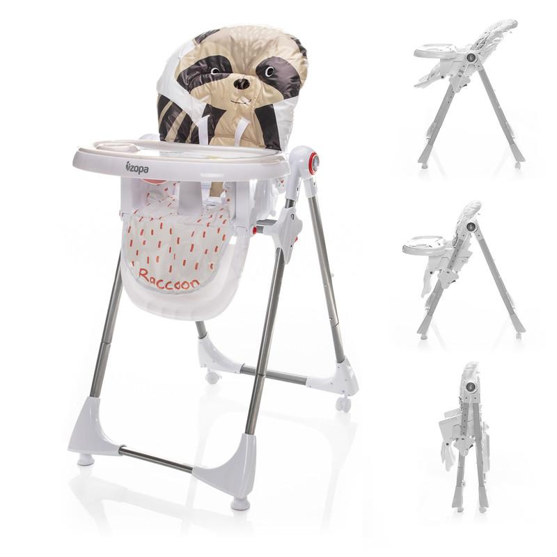 ZOPA - Dětská židle Monti, Lively Racoon