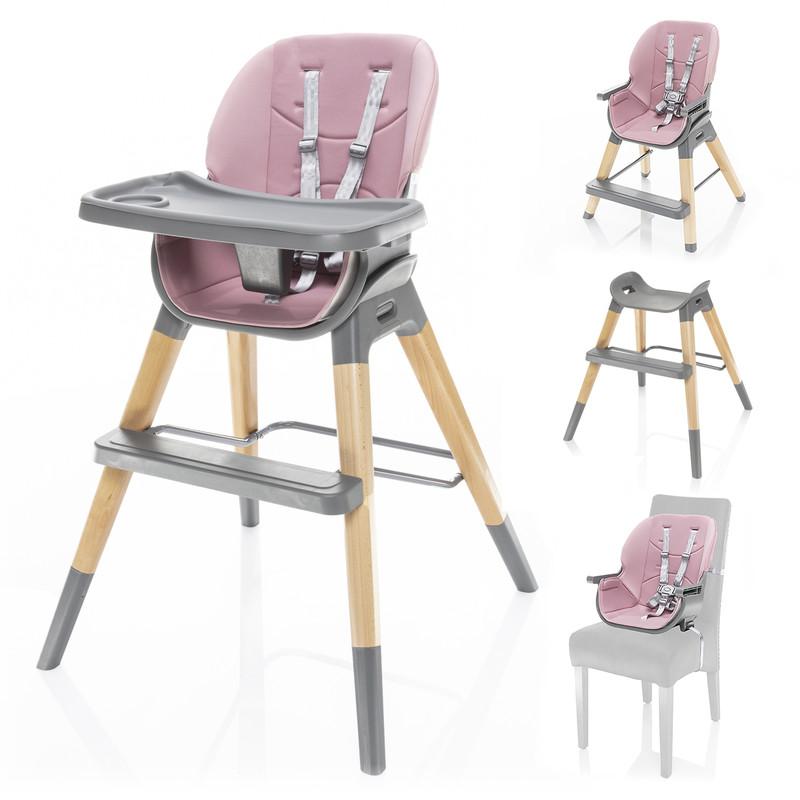 ZOPA - Dětská židle Nuvio, Blush pink
