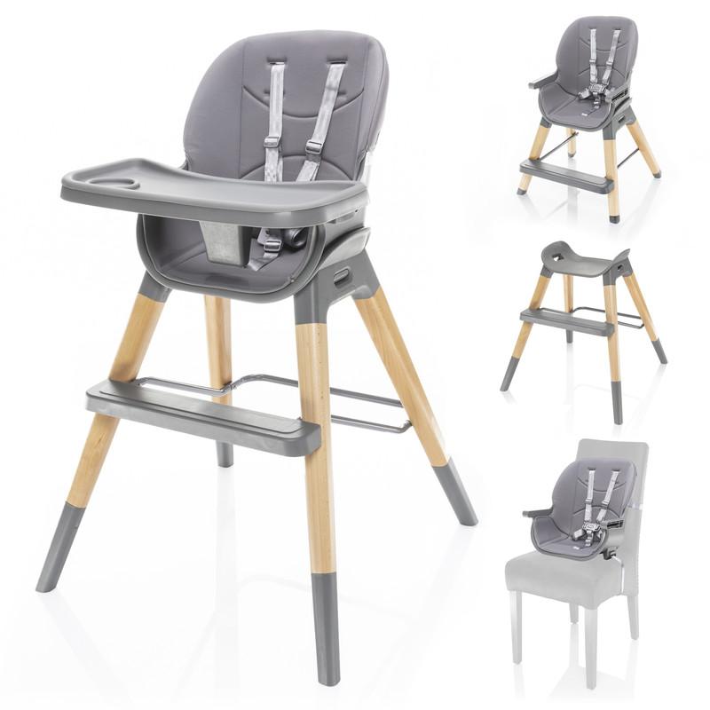 ZOPA - Dětská židle Nuvio, Dove Grey