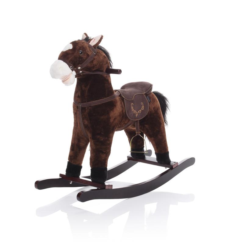 ZOPA - Houpací kůň tmavě hnědý TWINKIE